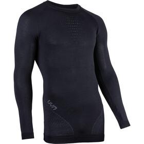 UYN Fusyon UW Koszulka z długim rękawem Mężczyźni, czarny/szary
